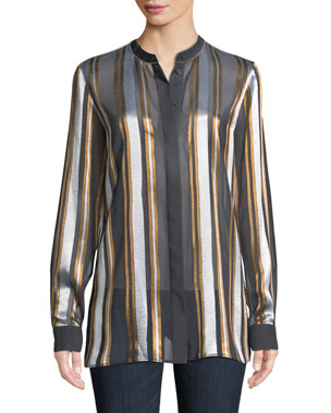c13f152d58d7eb Lafayette 148 New York ETHEREAL STRIPE BRAYDEN BLOU. Favorite. Quick Look