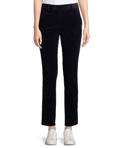 Image 1 of 3: Theory Slim Straight-Leg Modern Corduroy Trousers