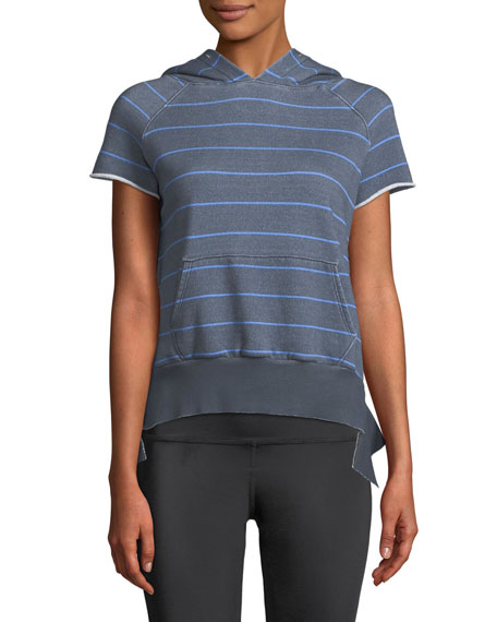 Frank & Eileen Tee Lab Striped Short-Sleeve Pullover
