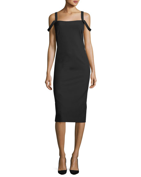 Perfect Sheath Sleeveless Midi Dress