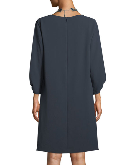 Wynona Dress in Finesse Crepe