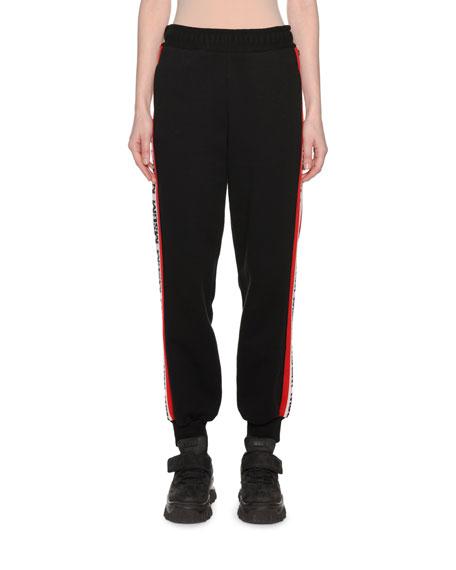 Side-Stripe Logo Jogger Pants