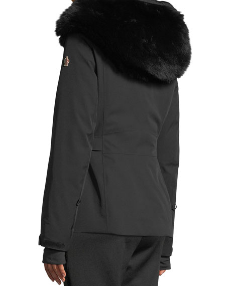 Entova Parka Coat w/ Removable Fur Hood
