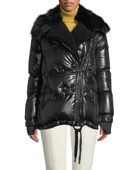 Seelisberg Puffer Coat w/ Fur Lining