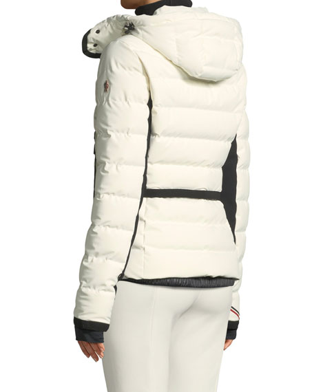 Lamoura Hooded Puffer Jacket w/ Removable Fur Trim