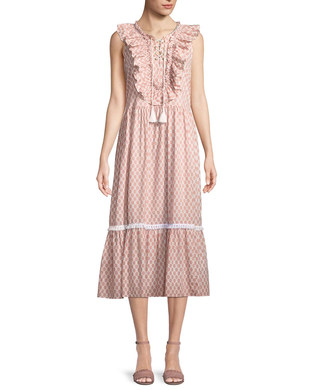 2b555a73b4d kate spade new york arrow stripe dress w  lace-up front