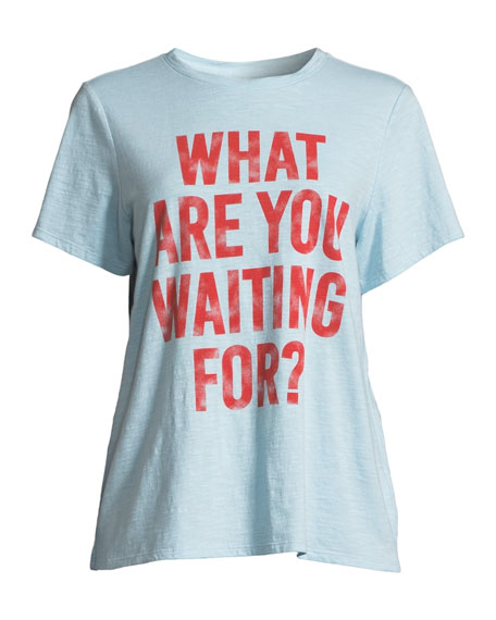 Tous Les Jours What are You Waiting For Tee