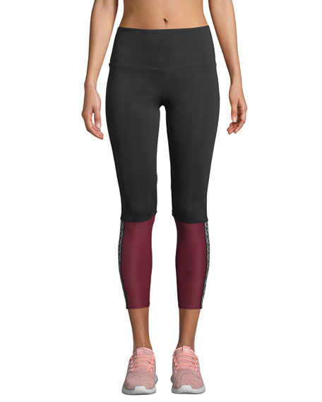 Onzie Olympian High-Rise Colorblock Performance Leggings