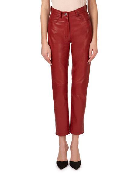 Magda Butrym Evansville Leather Pants