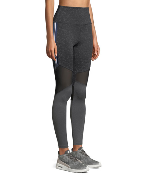 Nylora Ellison Colorblock Mesh Performance Leggings