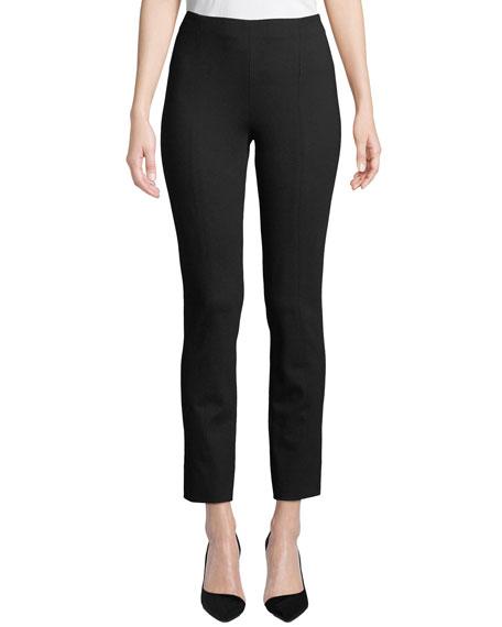 Misook Plus Size Ponte Slim-Leg Pants