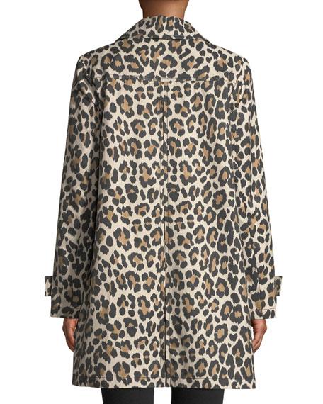kate spade new york Leopard Print Transitional Jacket