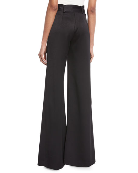 Nerissa Belted Wide-Leg Pants