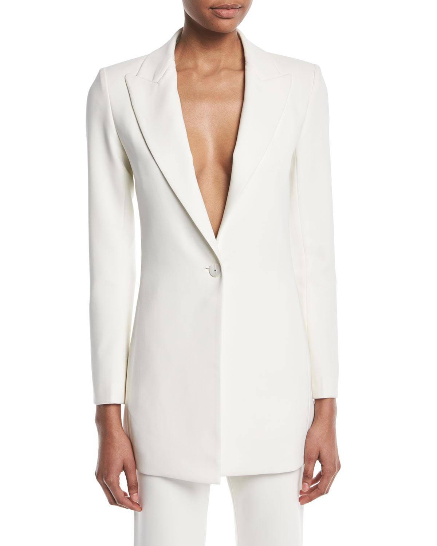 7f364877ba206 Alexis Alto Single-Button Jacket | Neiman Marcus