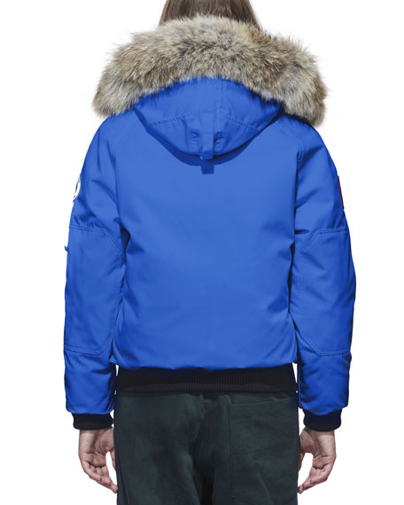 Image 3 of 3: Canada Goose Chilliwack PBI Bomber Coat with Fur Hood