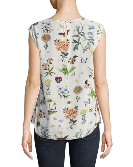 Kelda Floral-Print Sleeveless Top
