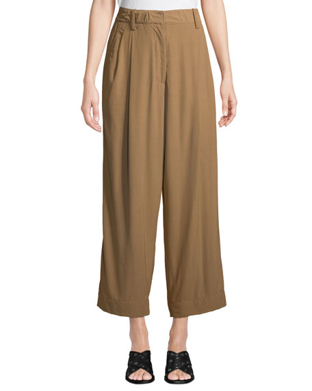 3.1 Phillip Lim Cropped Straight-Leg Tailored Pants