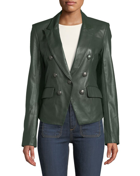 Cooke Leather Dickey Jacket