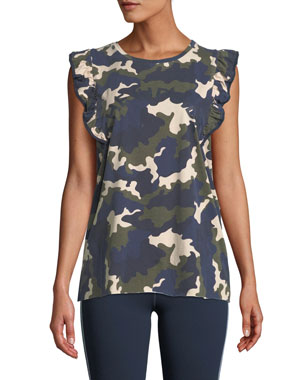 f6ccb8fd78c The Upside Camo-Print Frill Muscle Tank. Favorite. Quick Look