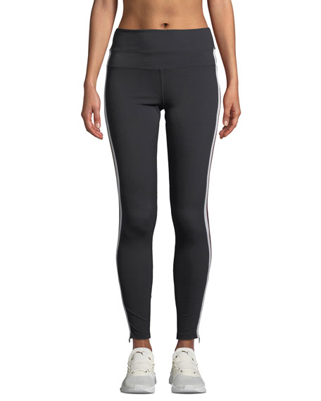 Spiritual Gangster SIDE-STRIPE HIGH-WAIST ACTIVEWEAR TRACK TIGHTS
