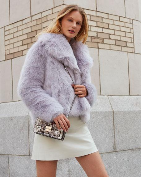A.L.C. Grant Long-Sleeve Faux-Fur Jacket