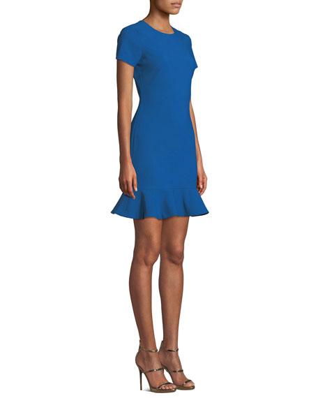 Beckett Flounce Tee Dress