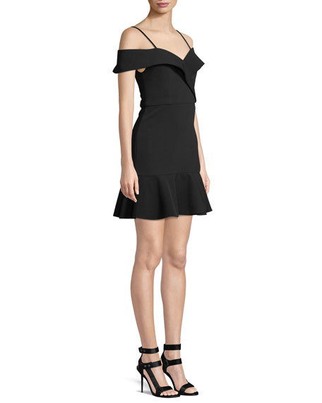 Dash Faux-Wrap Dress