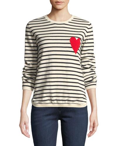 Breton Striped Cashmere Intarsia Sweater