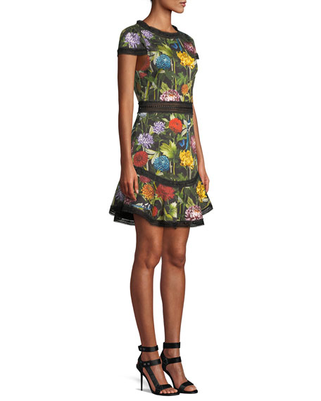 Rapunzel Floral Dress