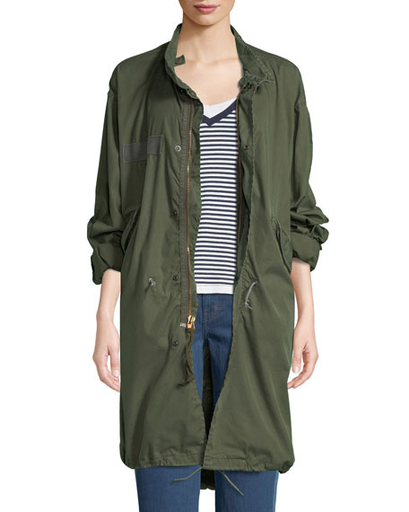Elizabeth and James Vintage One-of-a-Kind Fishtail Parka Jacket