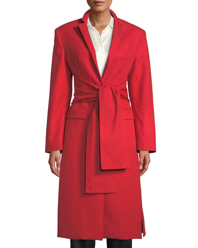 Trust Your Instincts Wool-Cashmere Long Coat