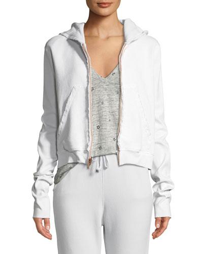Fleece Zip Hoodie Sweatshirt Jacket