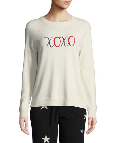 XOXO Wool-Cashmere Pullover Sweater