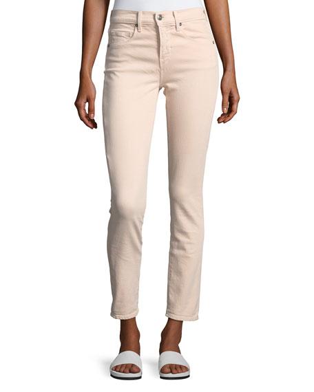 Skinny Crop Straight-Leg Jeans