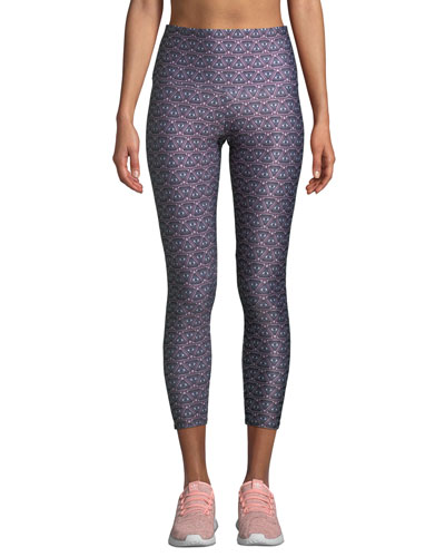 High-Rise Basic Midi Eye of Providence Yoga Leggings