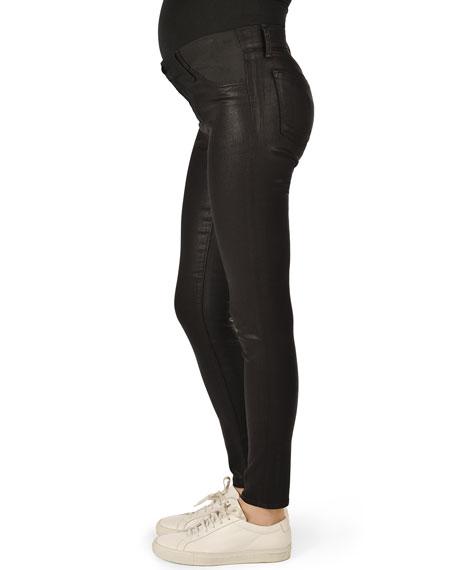 Mama J Super Skinny Coated Maternity Jeans