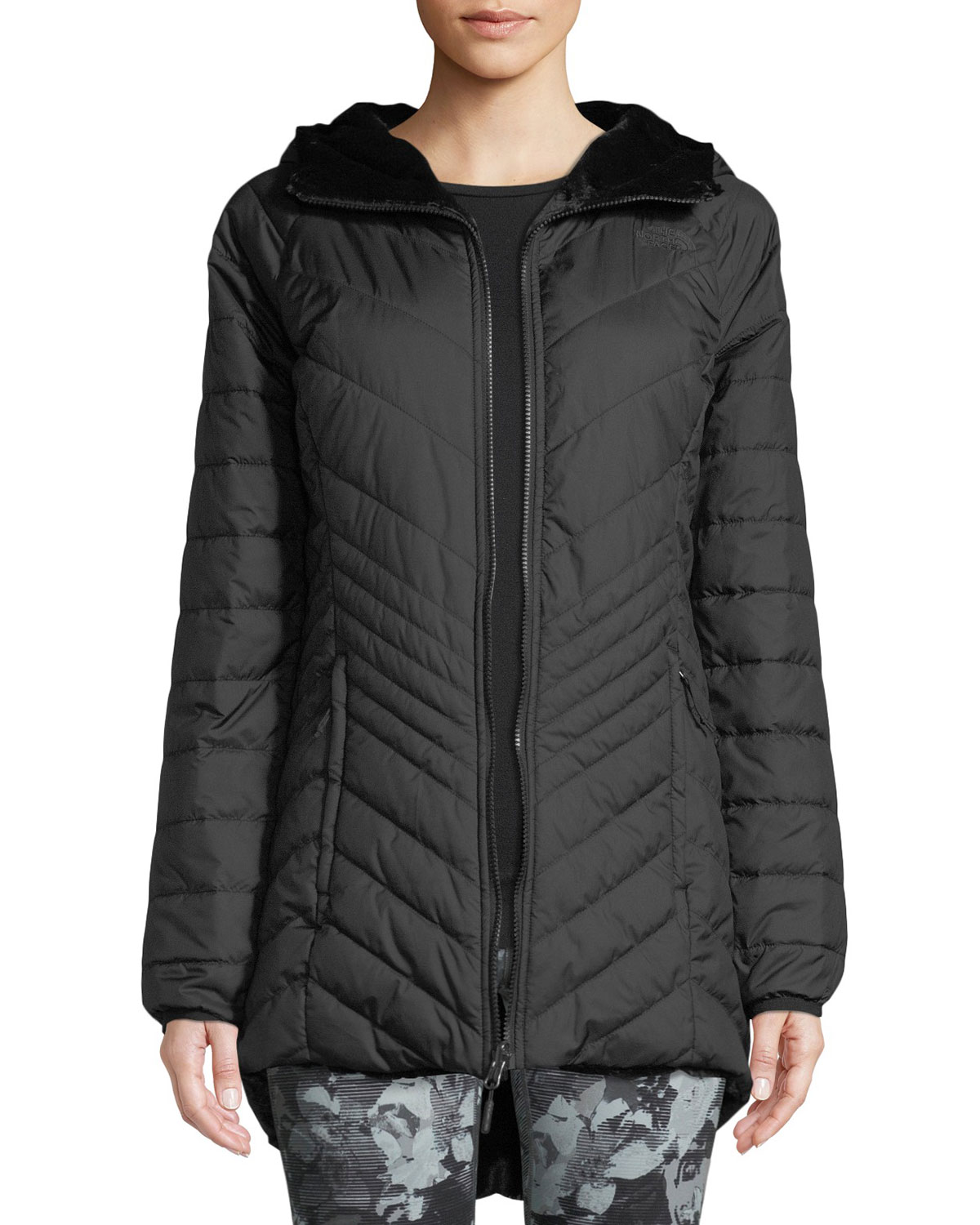The North Face Mossbud FlashDry-XD Insulated Reversible Parka Jacket ... 91a5e64f2