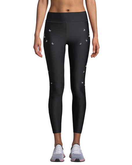 Ultracor ULTRA HIGH BUTTERFLY SWAROVSKI LEGGINGS