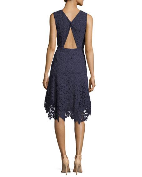 Bridley Lace High-Low Dress