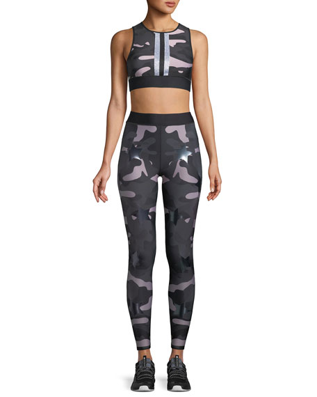Ultra Silky Camo Knockout Leggings w/ Stars