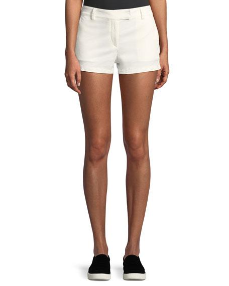 Bennie Garment-Dyed Twill Shorts