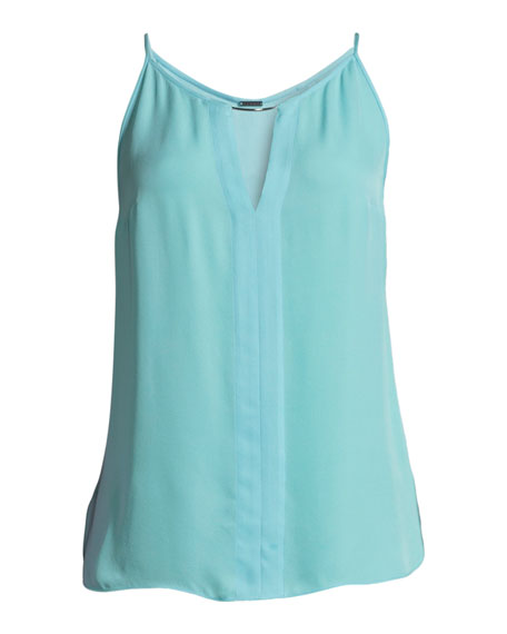 Pixie Silk Sleeveless Blouse