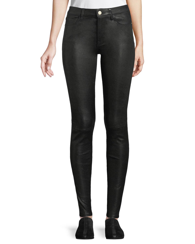 d30e2f89b8 FRAME Le High Skinny Leather Pants | Neiman Marcus