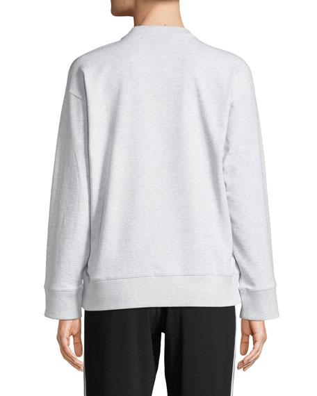 Kenzo Tiger Logo Crewneck Pullover Sweatshirt