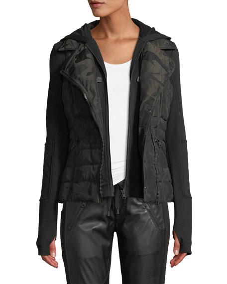 3-in-1 Camo-Print Packable Jacket