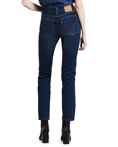 Levi's Premium Wedgie Icon Fit High-Rise Skinny Jeans
