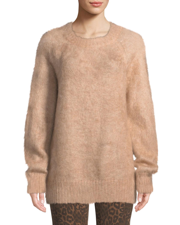1f004736eeab2 alexanderwang.t Mohair Crewneck Pullover Sweater