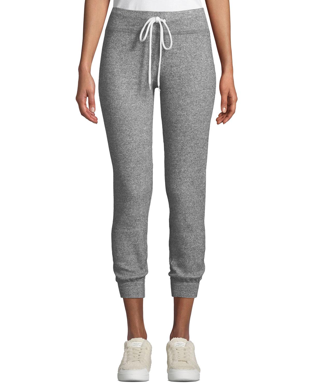 27621a784f47 Monrow Thermal Cuffed Drawstring Sweatpants