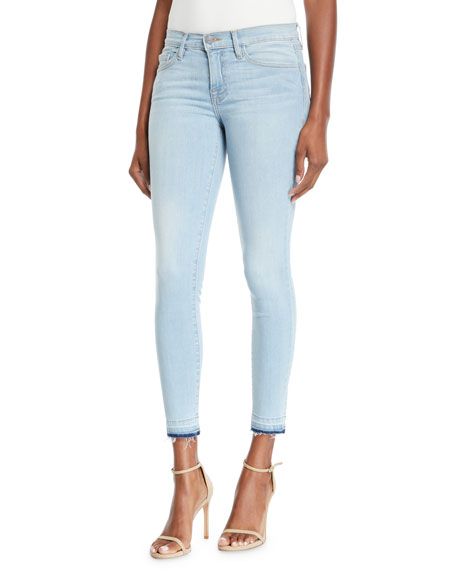 Etienne Marcel Skinny Two Tone Jeans With Double