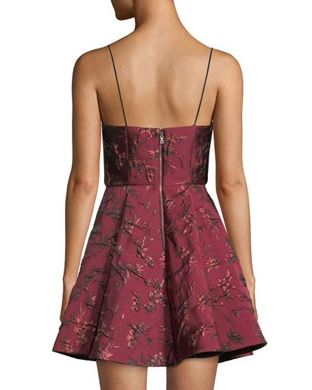 Anette Deep Pleat Party Dress